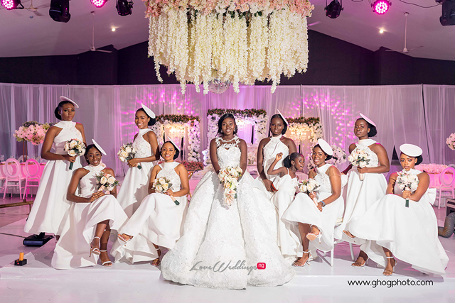 Adonai & Nana's Epic White Wedding | #NanaNana2k19