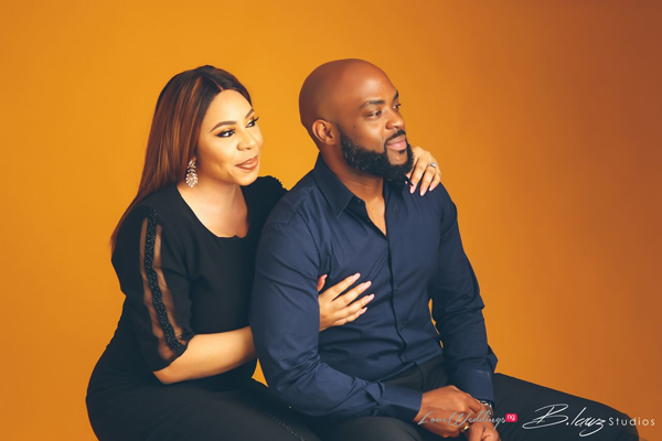 Anita & Chinenye's Studio Pre-Wedding Pictures are beautiful