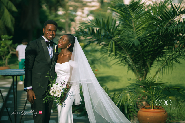 Uwem and Blessing's minimalist & budget-friendly wedding | #OurBund