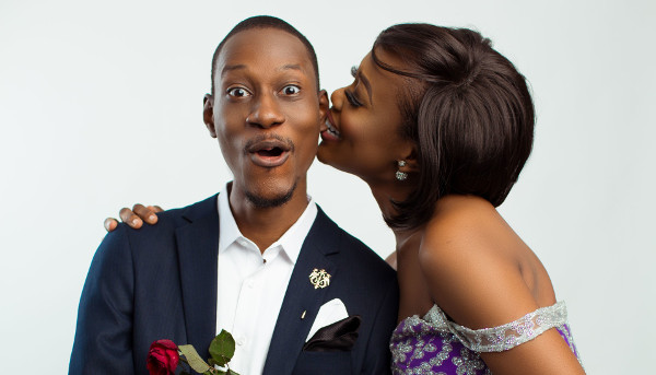 Yetunde (The Dimpled Baker) & Bola's Cute Studio Pre-Wedding Shoot | Diko Photography