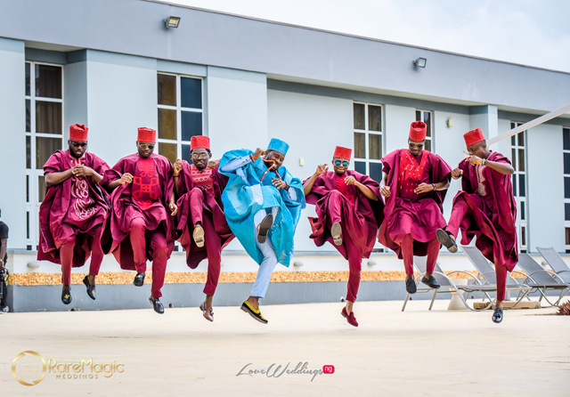 Gbe body e! Gbese | The latest Nigerian Wedding pose