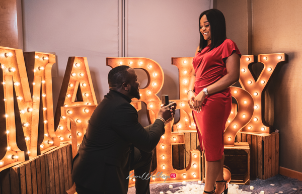 Funi & Arinze's super cute proposal story will leave you smiling!