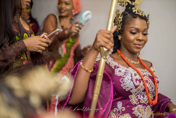 Gabby & Kojo's traditional wedding was a Nigerian-Ghanaian affair | #GAJO2020