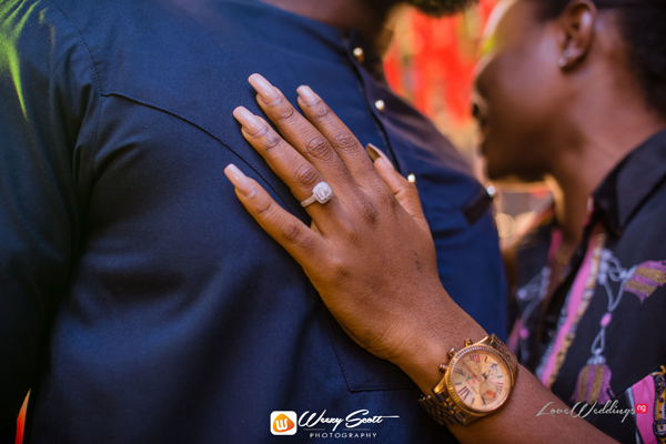 Larry & Bisola were accountability partners in church | #LBLoveStory2020