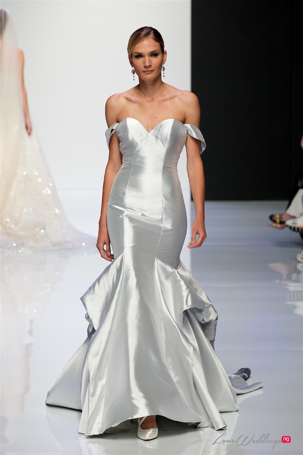4ad6e5d6c592 ... dresses, two-piece sets to feathers to halternecks; these are some of  the trends we spotted at the recently concluded London Bridal Fashion Week  2019 ...
