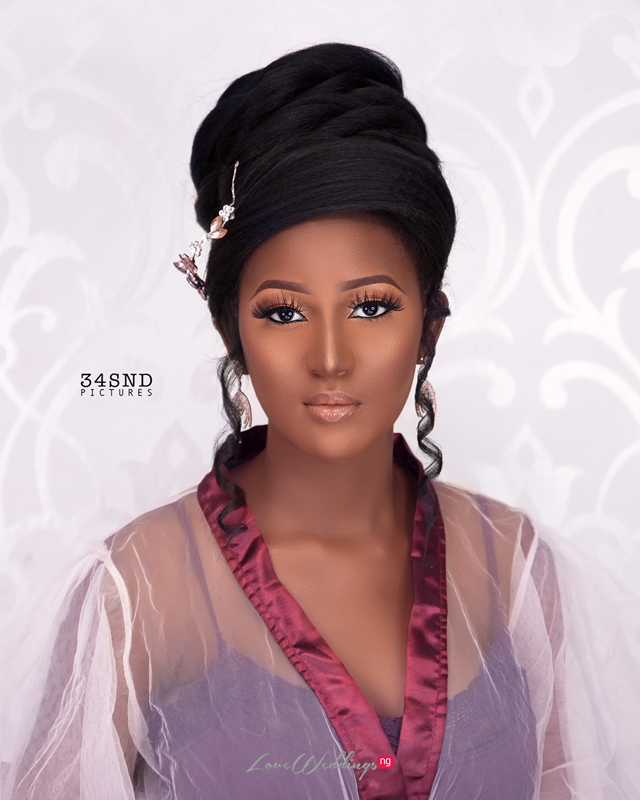 This Bridal Hairstyle Is Wrapped And Aisle Ready Loveweddingsng