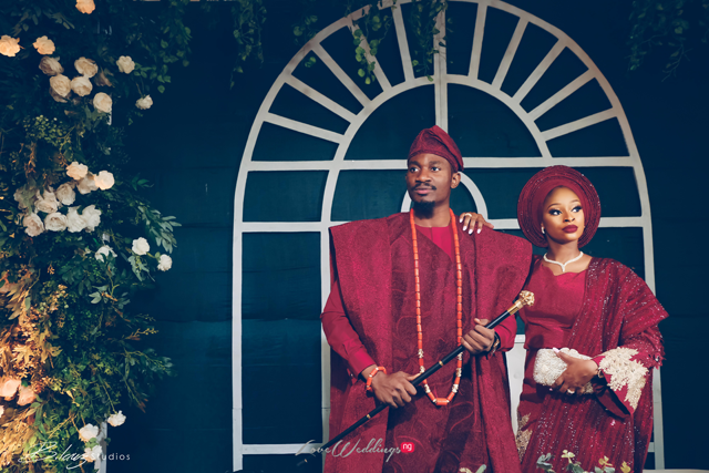 Laphy & Bukky's Rich Yoruba Traditional Wedding | #OlaphyDay