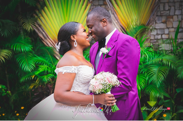 Nneka & Osi's cute Nigerian Wedding photos will make you blush | #LoveonTop2019