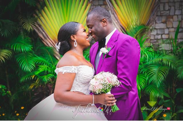 Nneka & Osi's cute Nigerian Wedding photos will make you blush   #LoveonTop2019