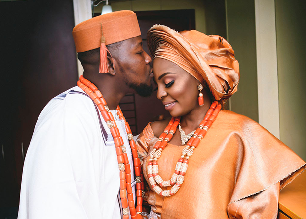Oladayo & Adeyinka's Traditional Wedding | #OfKnittedSouls