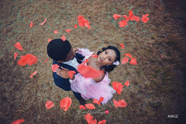 Shola & Bunmi's stunning pre-wedding shoot will make you smile |  #EleShUnion