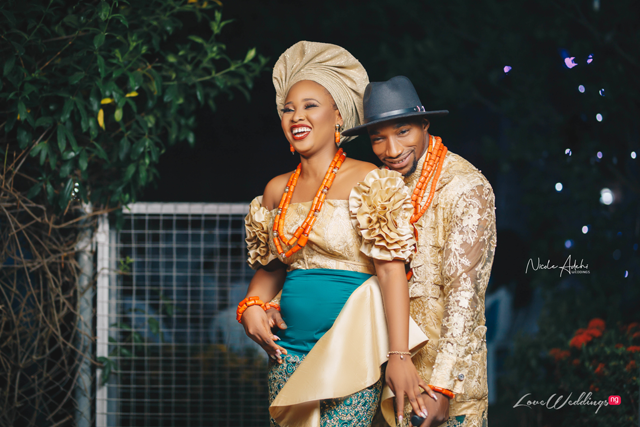 Stephanie & Sesan's Nigerian Traditional Wedding | Valeo Photography
