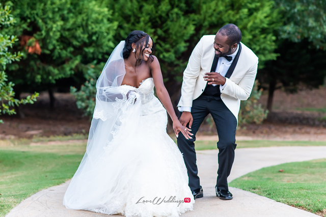 Tolu & Lekan's #AtLastAlase White Wedding will leave you smiling
