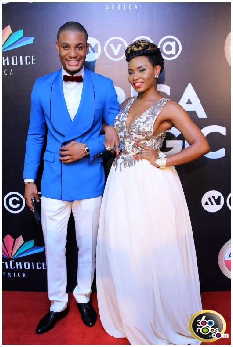 AMVCA 2014 - Alex Ekubo and Yemi Alade