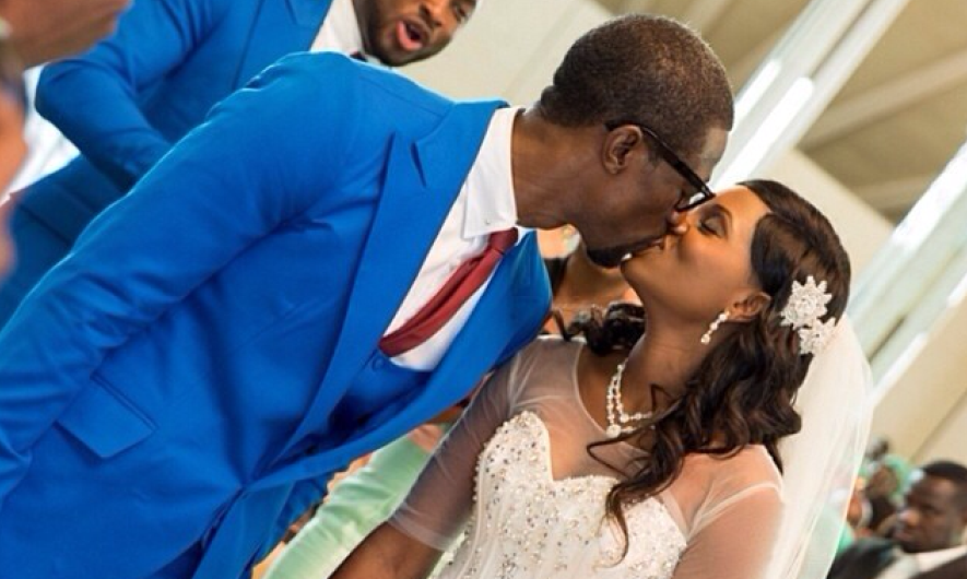 Pictures from Ese Walter and Benny Ark's white wedding