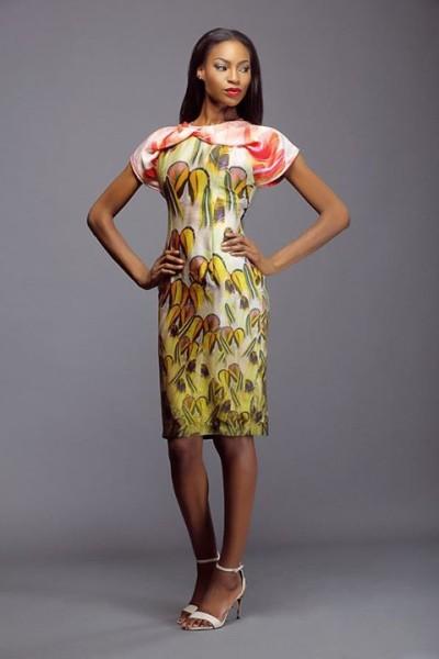 Lanre Da Silva Ajayi Colour Storm Collection Lookbook 2014 - 1