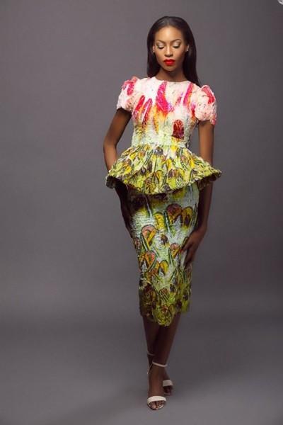 Lanre Da Silva Ajayi Colour Storm Collection Lookbook 2014 - 3
