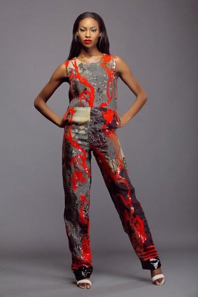 Lanre Da Silva Ajayi Colour Storm Collection Lookbook 2014 - 6