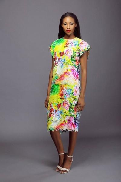 Lanre Da Silva Ajayi Colour Storm Collection Lookbook 2014
