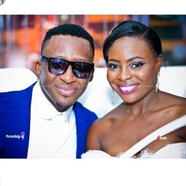 Celebrity Wedding: Music Superstar Bez weds Bolatito Ladoja