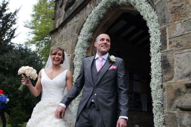 Loveweddingsng Jessica Ennis weds Andy Hill1