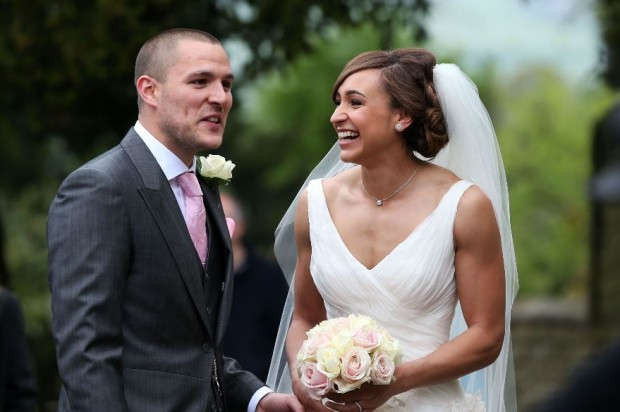 Loveweddingsng Jessica Ennis weds Andy Hill4