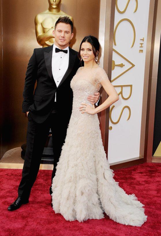 Oscars 2014 - Jenna Dewan and Channing Tatum