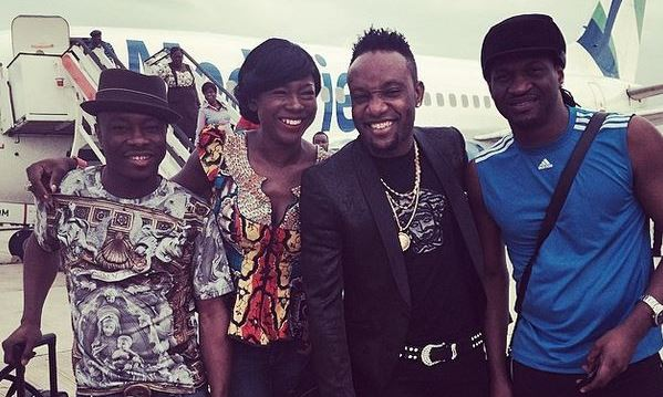 #PaulandAnita: Paul Okoye arrives Port Harcourt with Celebs for Traditional Wedding