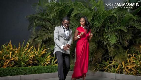 Paul Okoye - Psquare Anita Isama Prewedding