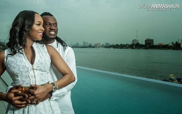 Paul Okoye - Psquare Anita Isama Prewedding2