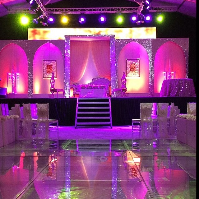 Paul Okoye and Anita Isama The Wedding Guru Decor