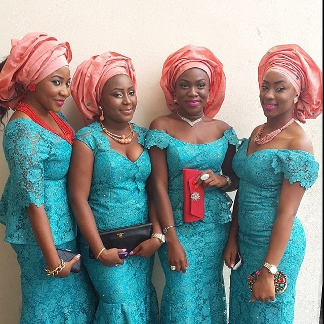 Paul Okoye and Anita Isama Traditional Wedding - Asoebi