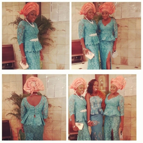 Paul Okoye and Anita Isama Traditional Wedding - Funke Akindele, Ini Edo