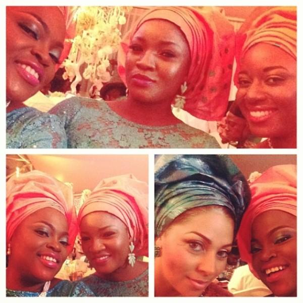 Paul Okoye and Anita Isama Traditional Wedding - Lola Omotayo, Funke Akindele, Omotola Jalade-Ekeinde, Lilian
