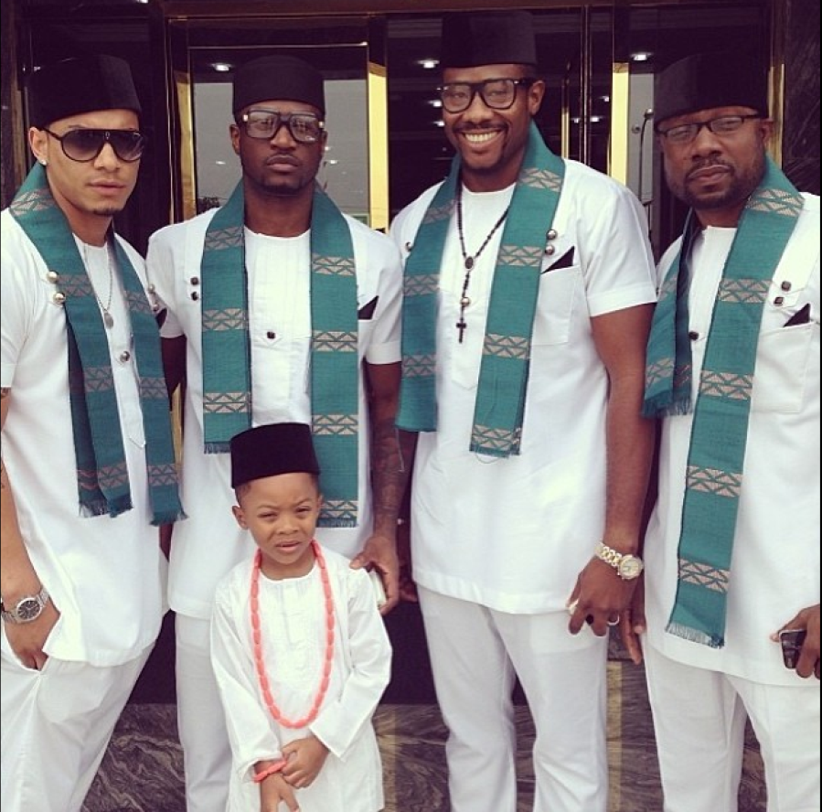 Paul Okoye and Anita Isama Traditional Wedding - Paul and Cameron Okoye