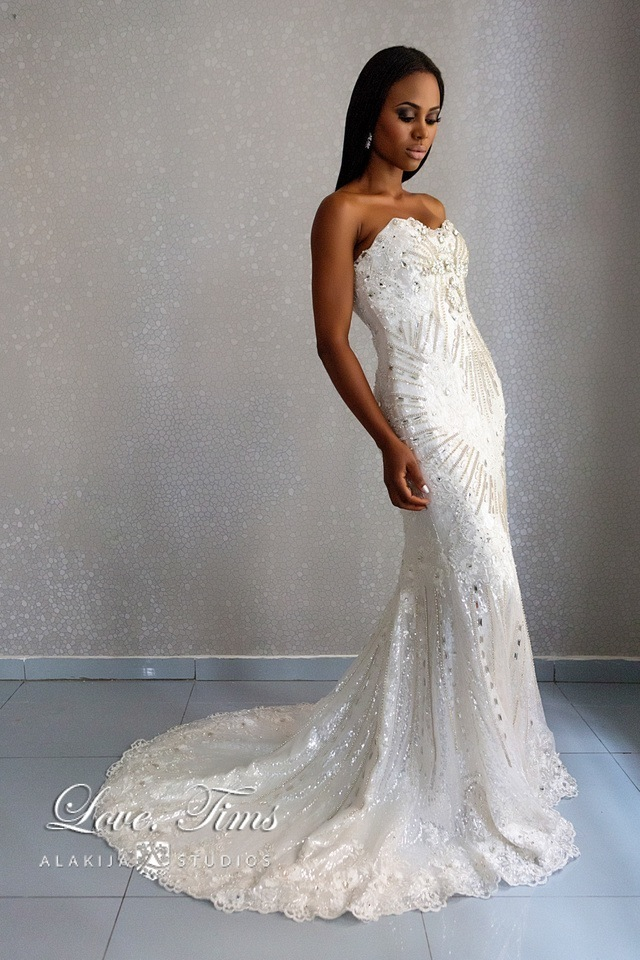 The Loila Collection by Love Timms - Reception Dress - Loveweddingsng
