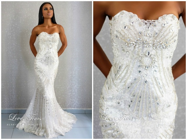 The Loila Collection By Love Timms Reception Dress Loveweddingsng1