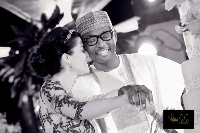 Pictures from Abba Atiku Abubakar & Mariana Silva's Wedding in Dubai