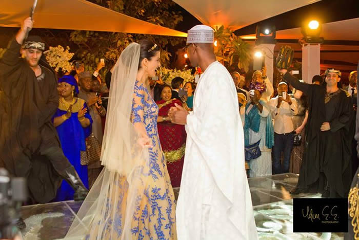 Abba Atiku Abubakar and Mariana Silva Wedding Dubai Loveweddingsng2