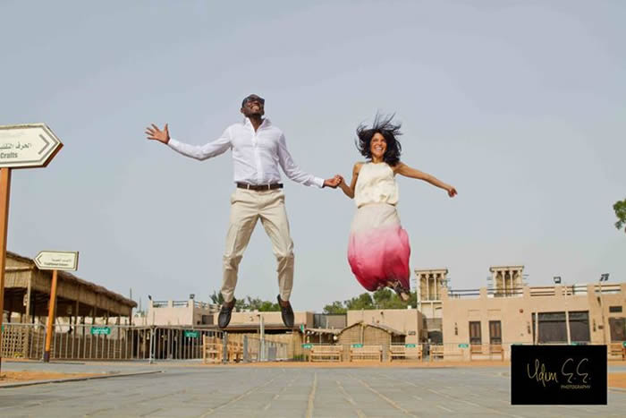 Pre-Wedding Shoot: Abba Atiku Abubakar & Mariana Silva