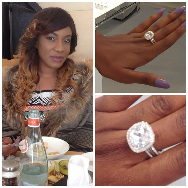 Chika Ike Diamond Ring