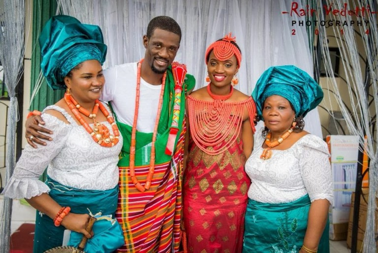 Ese Walter Benny Ark Traditional Wedding Loveweddingsng15