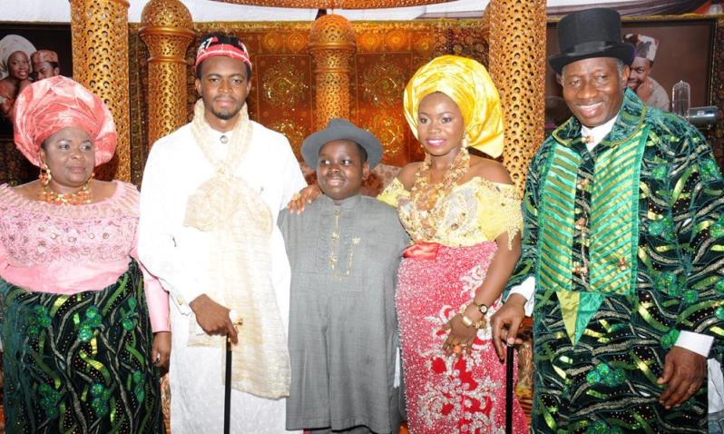 Pictures from President Jonathan's Daughter's (Faith Elizabeth Sakwe's) Wedding