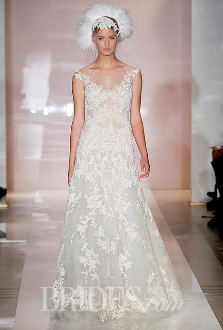 Fall 2014 Wedding Trends - Illusion Cap sleeves Loveweddingsng20