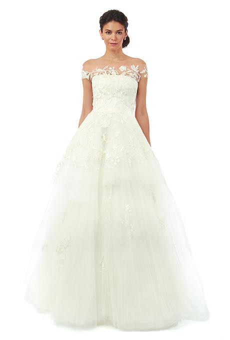 Fall 2014 Wedding Trends - Illusion Cap sleeves Loveweddingsng21