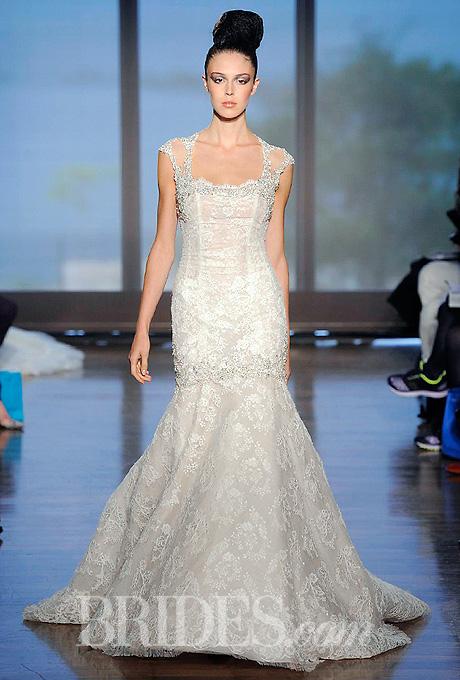 Fall 2014 Wedding Trends - Illusion Cap sleeves Loveweddingsng24
