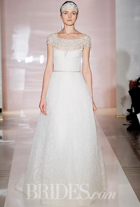 Fall 2014 Wedding Trends - Illusion Cap sleeves Loveweddingsng27