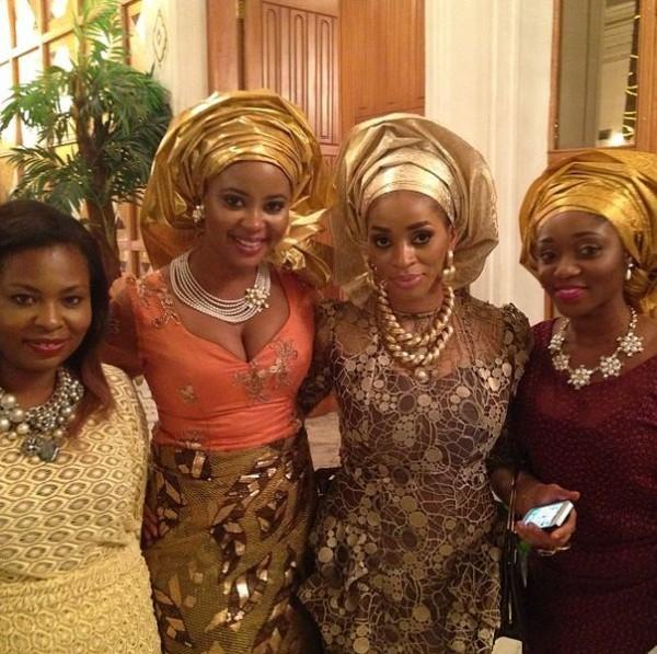 Hadiza Okoya weds Olamiju Alao-Akala Introduction Loveweddingsng - Omowumi Akinnifesi, Sade Okoyea