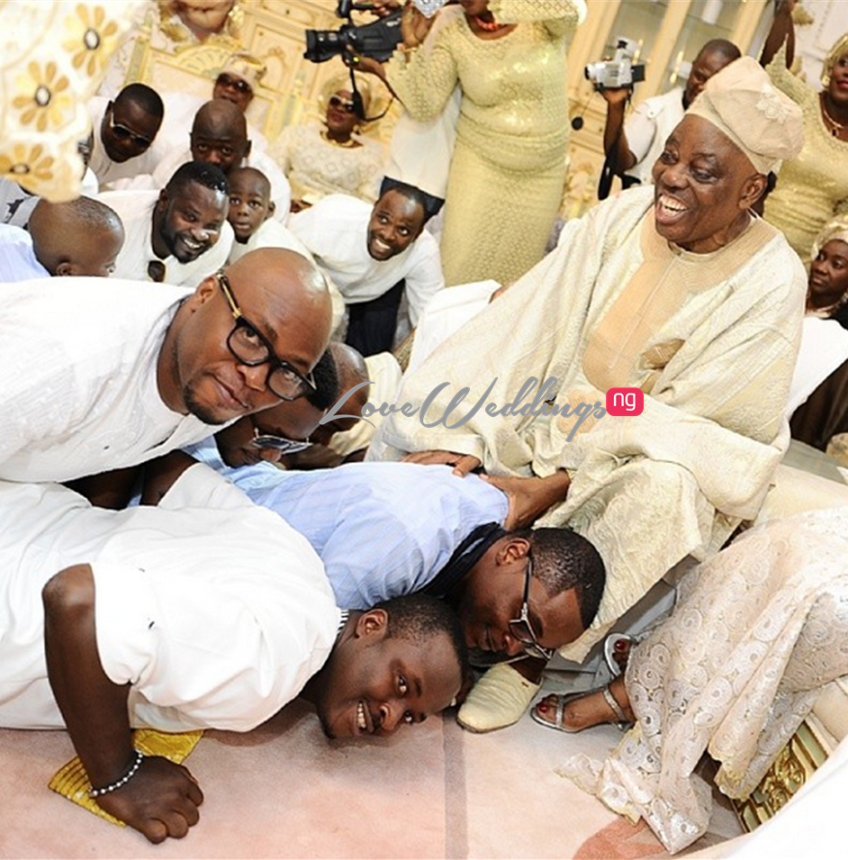 Traditional Wedding: Hadiza Raisa Okoya weds Olamijuwonlo Alao-Akala