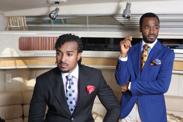 OUCH unveils Bryan Okwara & OC Ukeje as Brand Ambassadors for S/S 2014 Collection